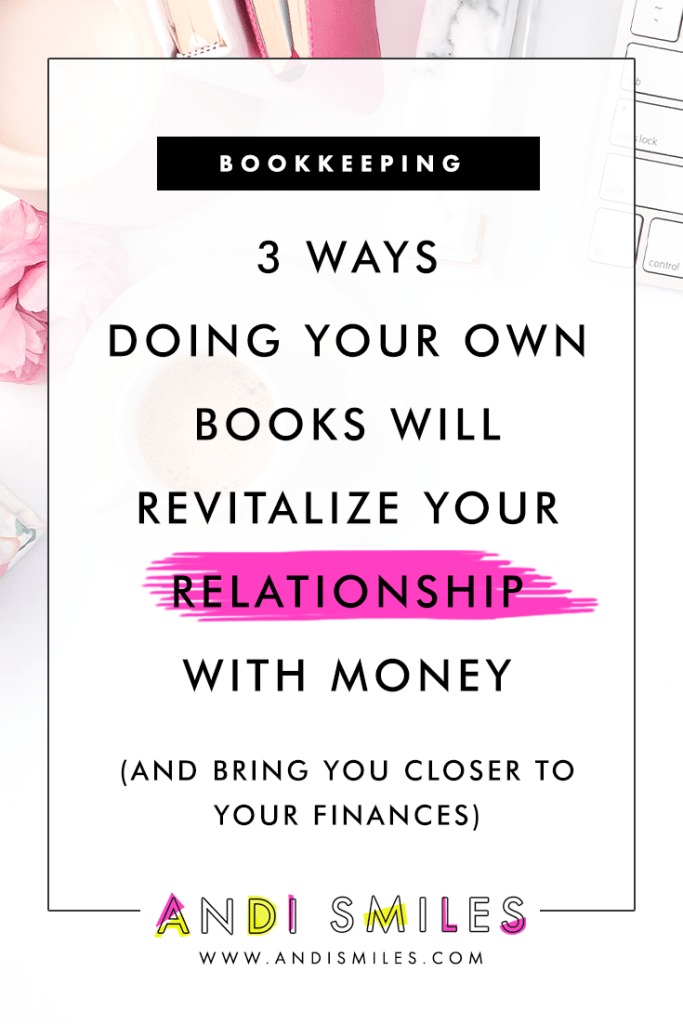 Not only does keeping your own books keep you intimate with your money, but it also can help transform your relationship with your finances. Click through to read the whole post.  #businesstips #entrepreneurtips