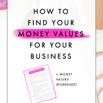 How to Find Your Money Values for Your Business