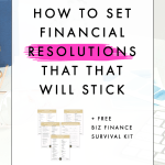 How to Set Financial Resolutions that That Will Stick