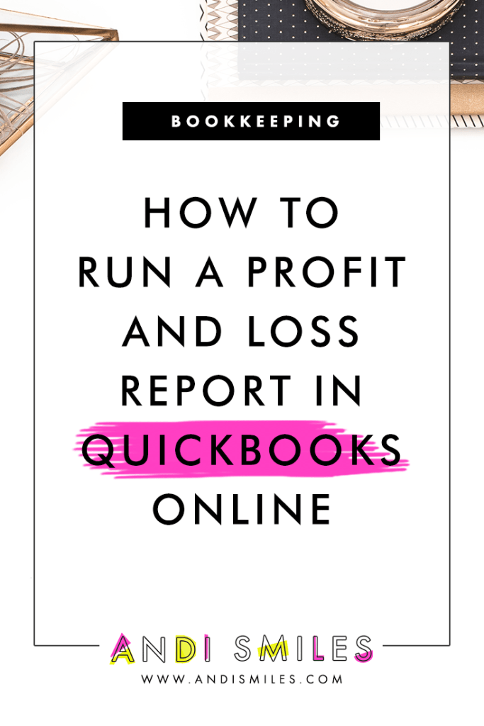 Get clear on your small business numbers with this reports tutorial for QuickBooks Online. In this video, I'm teaching you how to run a Profit & Loss report (or income statement) in QuickBooks Online. Plus, I'll be sharing some hot tips and tricks to get even more out of your QuickBooks report. Click through to watch this QuickBooks Online tutorial! #quickbooks #bookkeeping