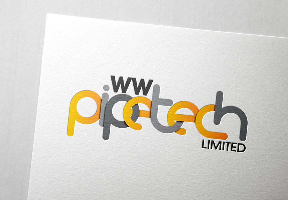 Pipetech Logo: By Factory, Digital Agency In Manchester