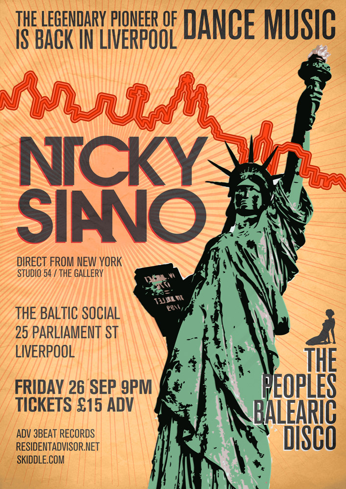 Legendary Pioneer of Dance Music Nicky Siano: By Factory, Digital Agency In Manchester
