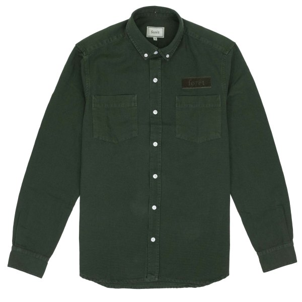 forét Bear Shirt - Dark Green
