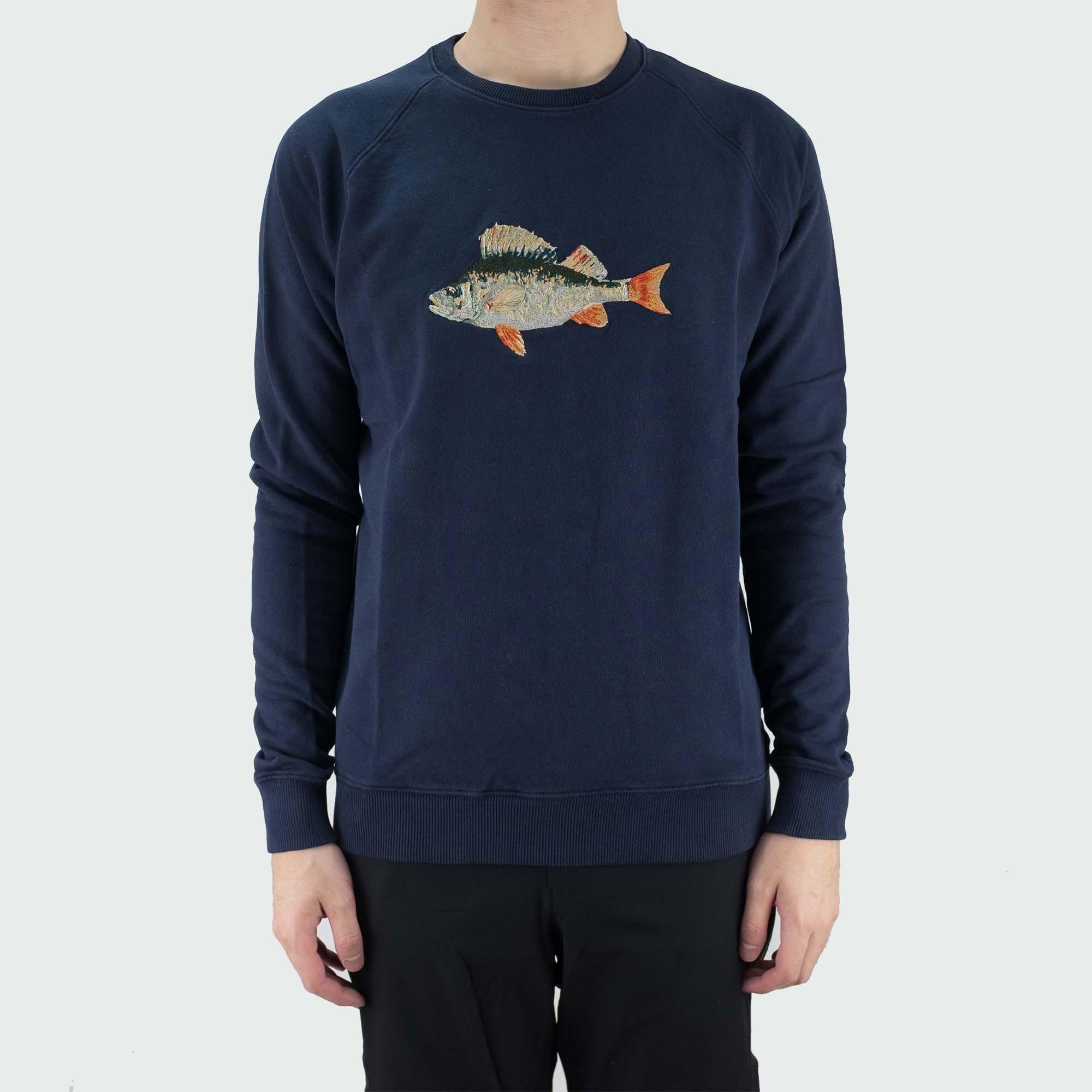 forét Bait Sweatshirt - Midnight Blue