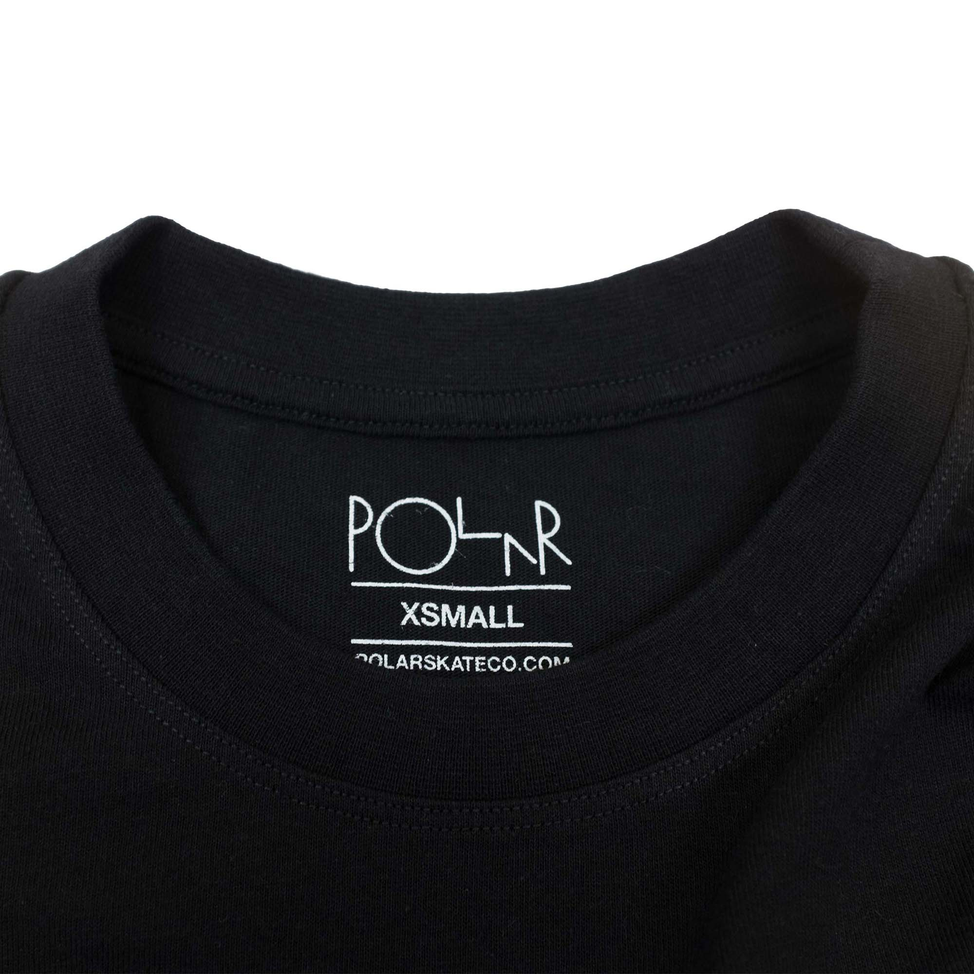 Polar Skate Co. Big Boy Pocket T Shirt - Black