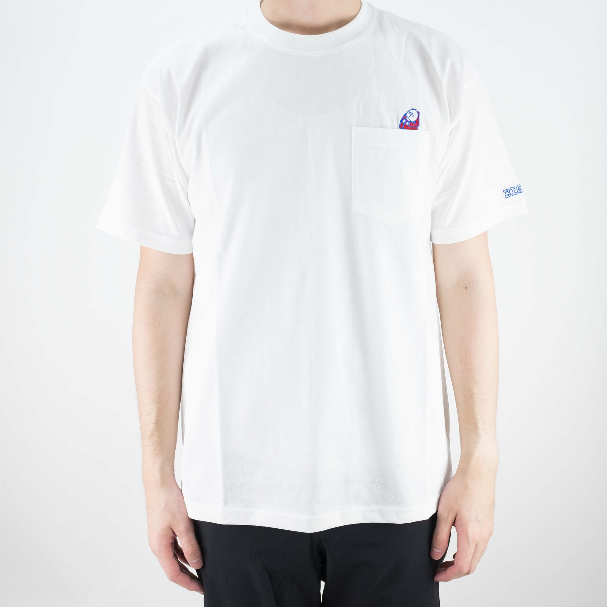 Polar Skate Co. Big Boy Pocket T Shirt - White