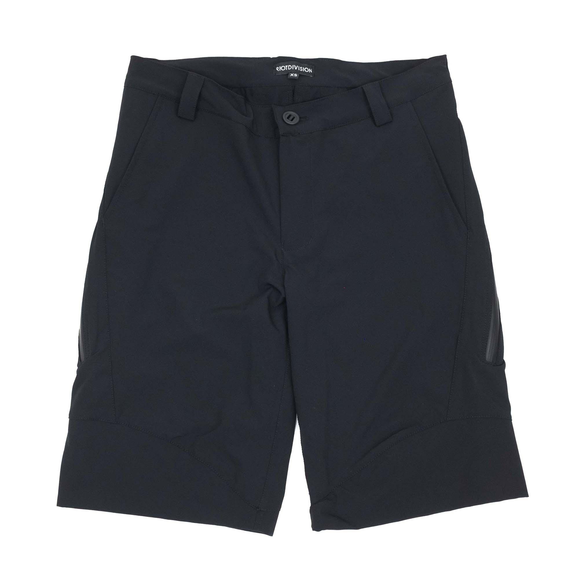 Riot Division Concealed Shorts - Black