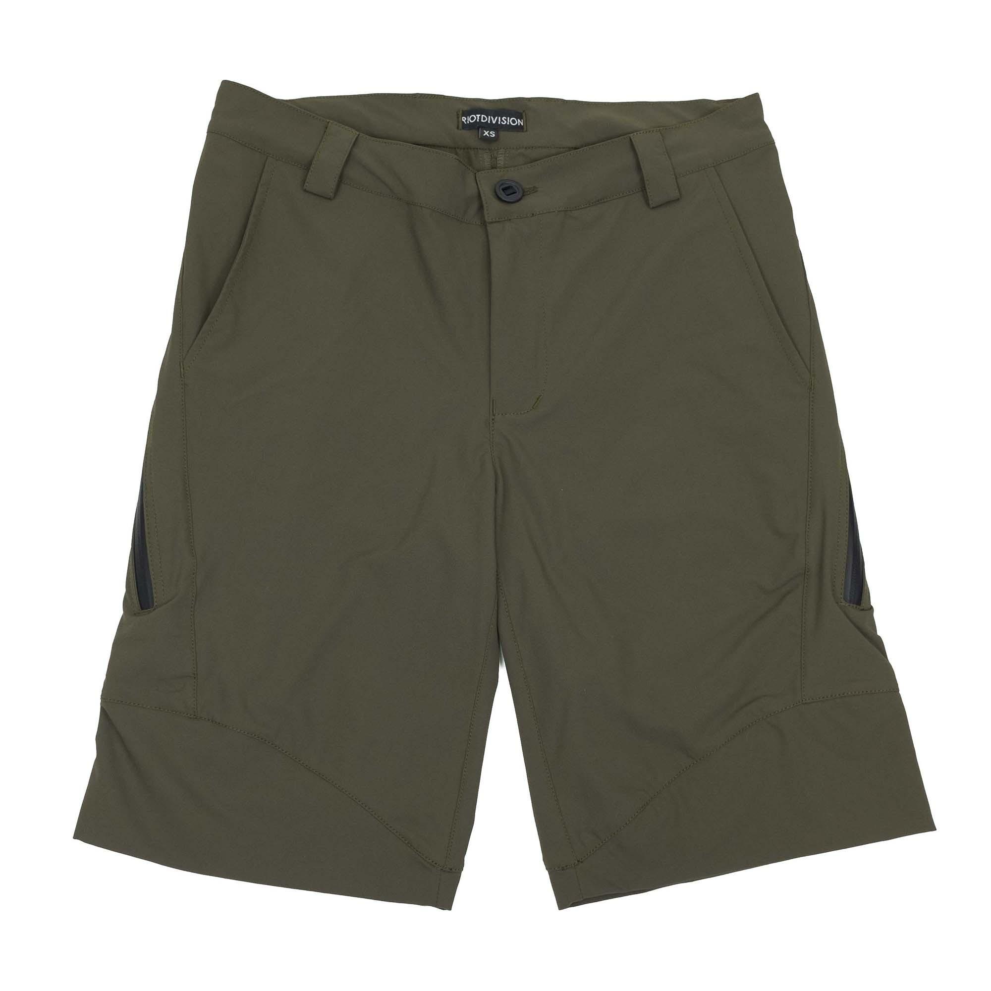 Riot Division Concealed Shorts - Khaki