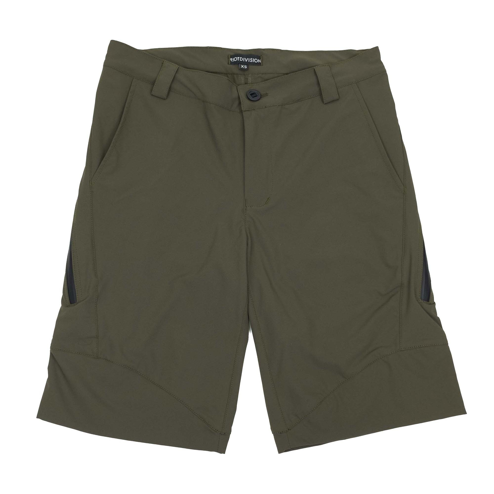 Riot Division Concealed Shorts - Khaki