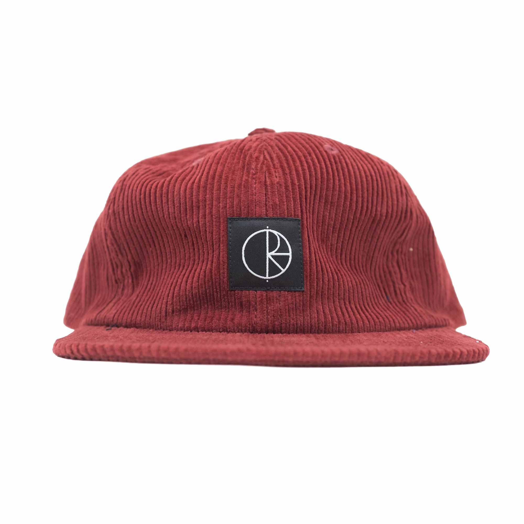 Polar Skate Co. Corduroy Cap - Red