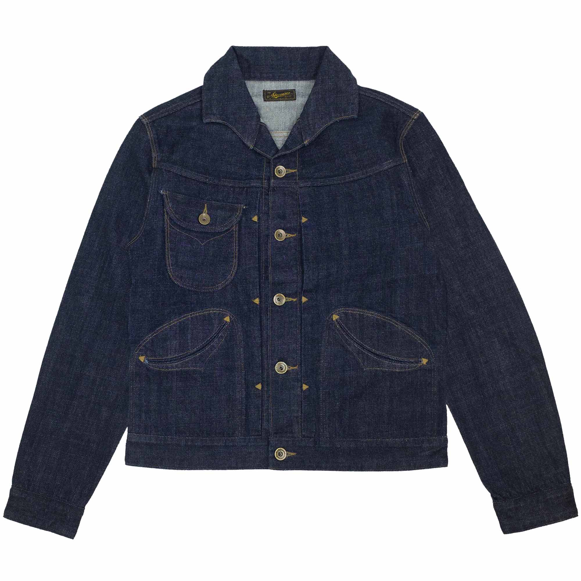 Stevenson Overall Co. Deputy Denim Jacket - Indigo