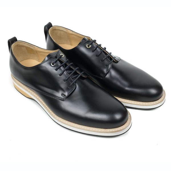 WANT Les Essentiels Montoro 德比鞋 - 黑色