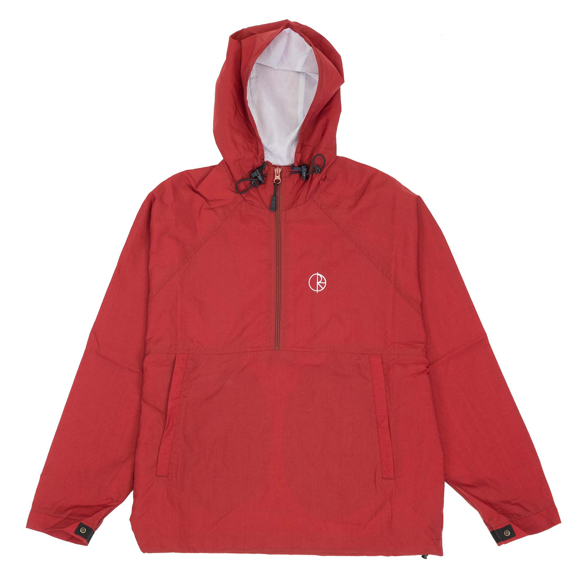 Polar Skate Co. Ripstop Anorak Jacket - Red