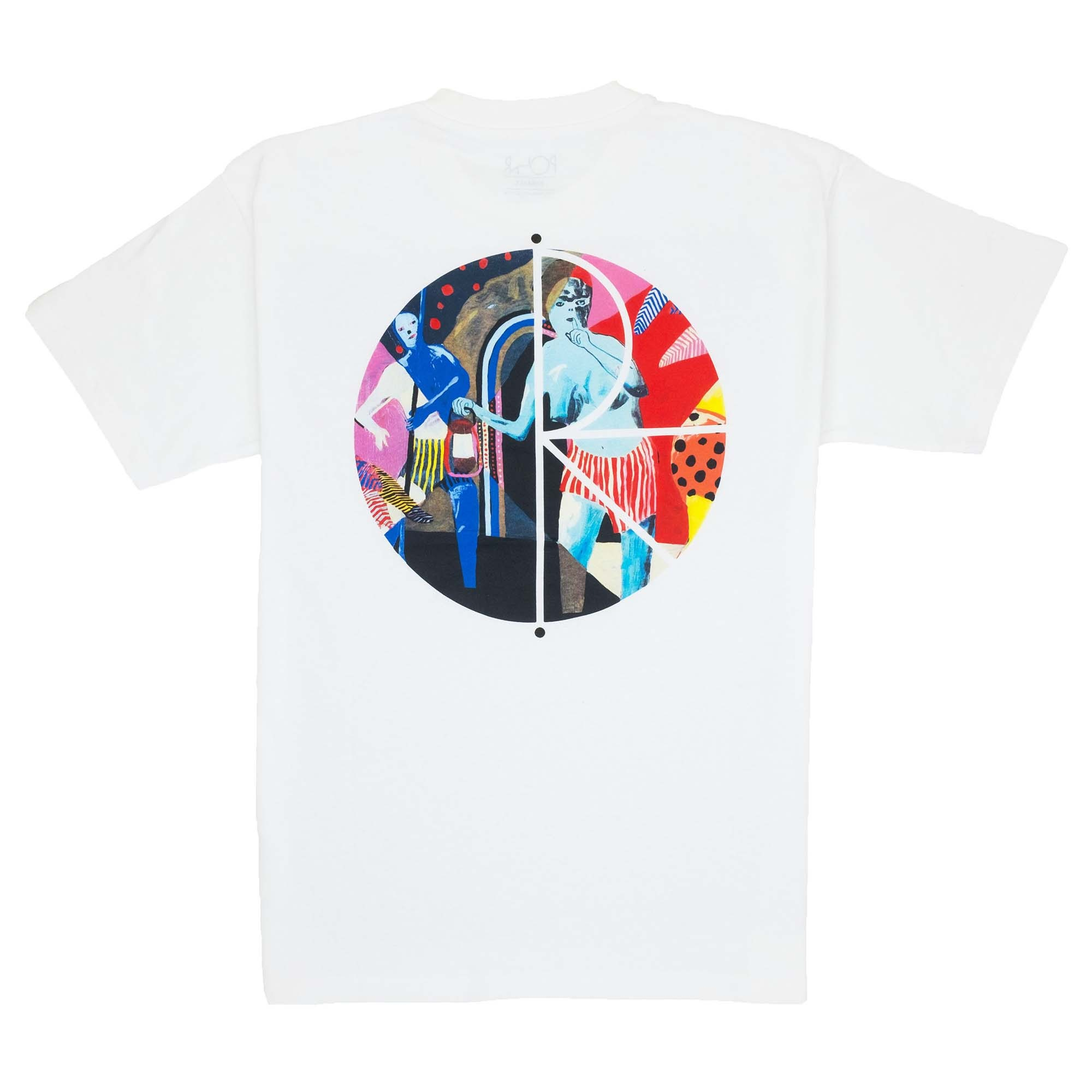 Polar Skate Co. Secret Fill Logo T Shirt - White