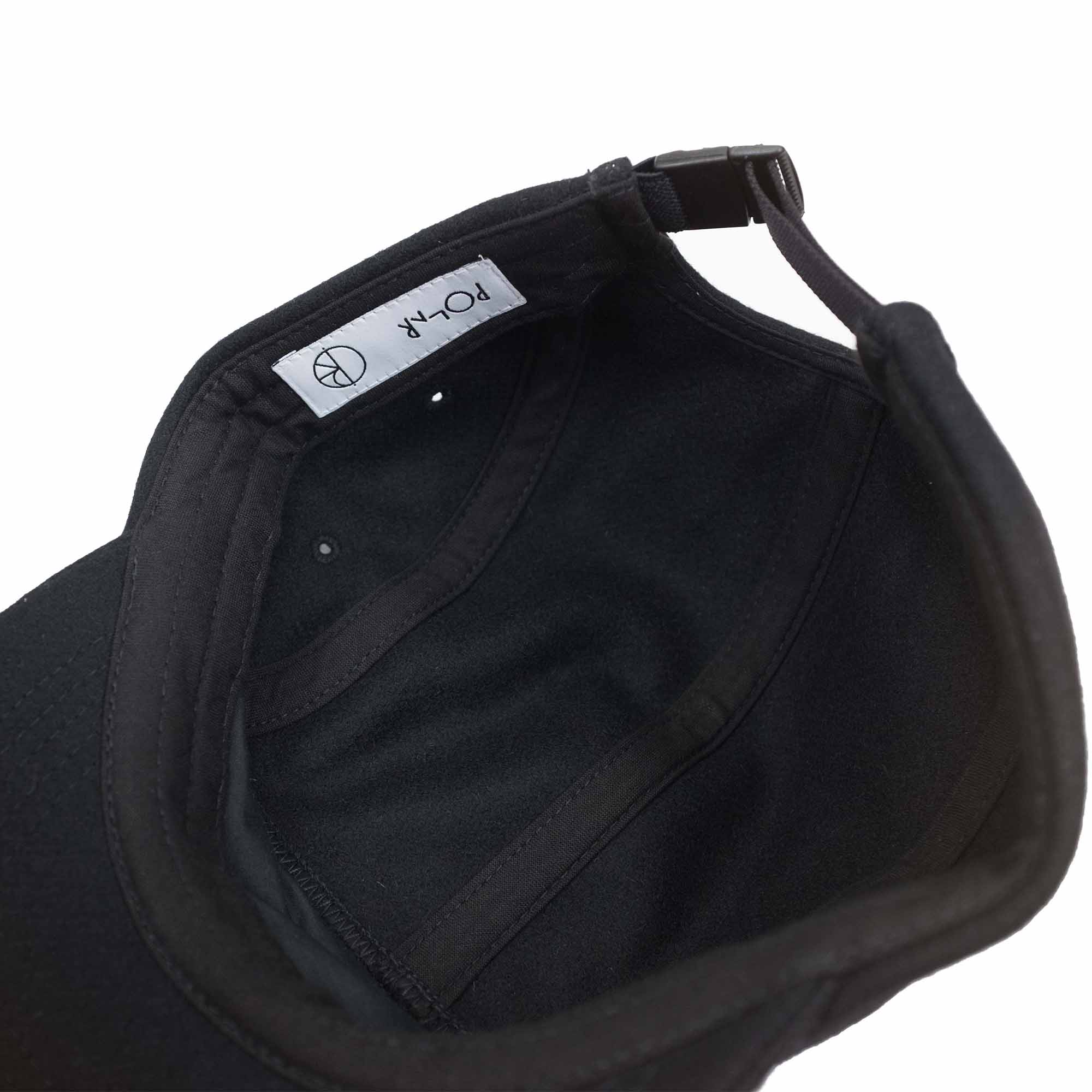 Polar Skate Co. Wool Speed Cap - Black