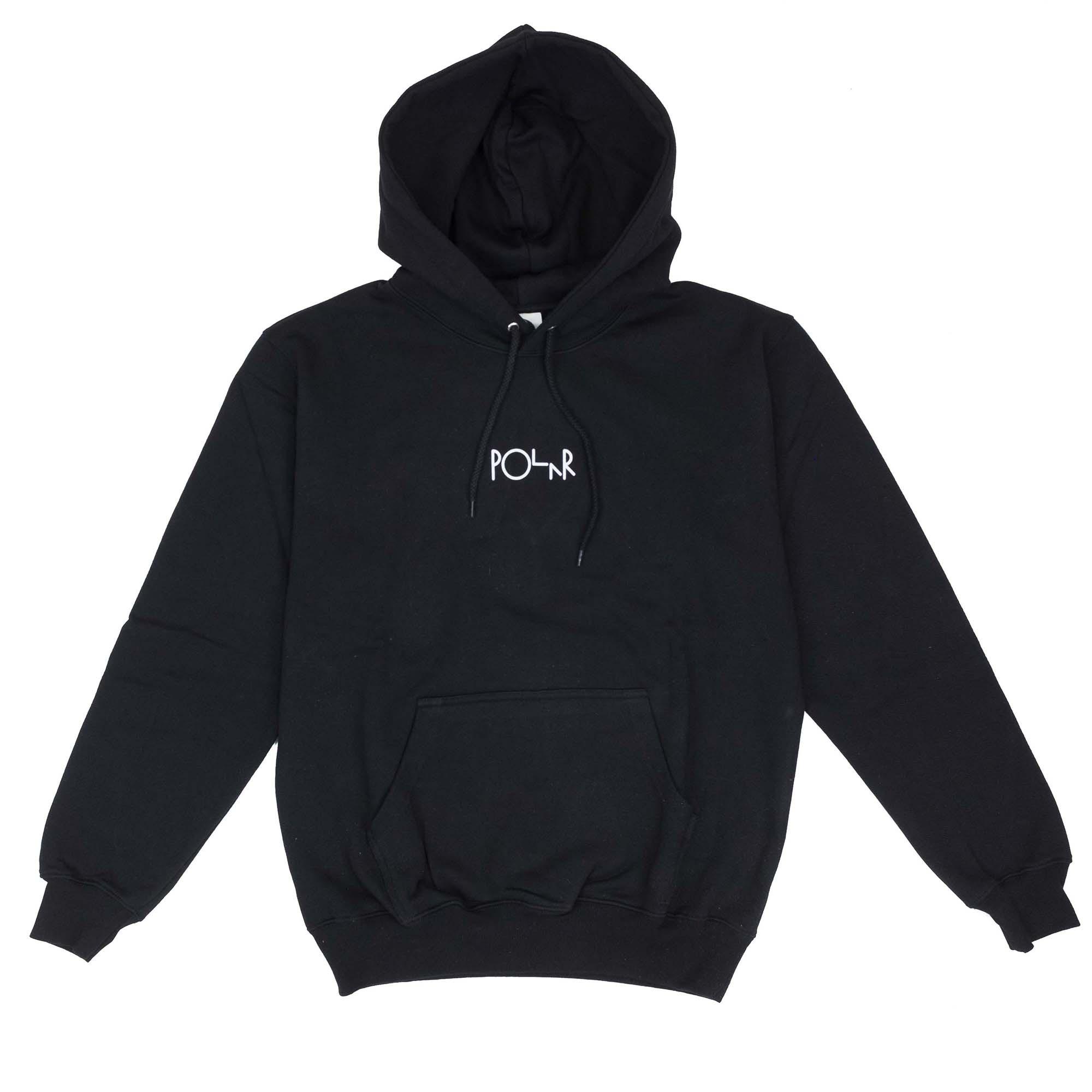 Polar Skate Co. Stroke Logo Hoodie - Black