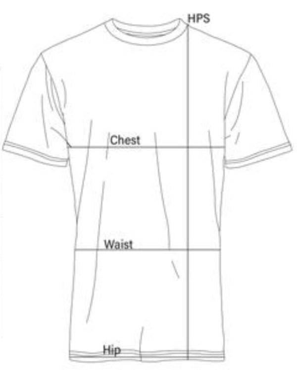 T shirt Measurement