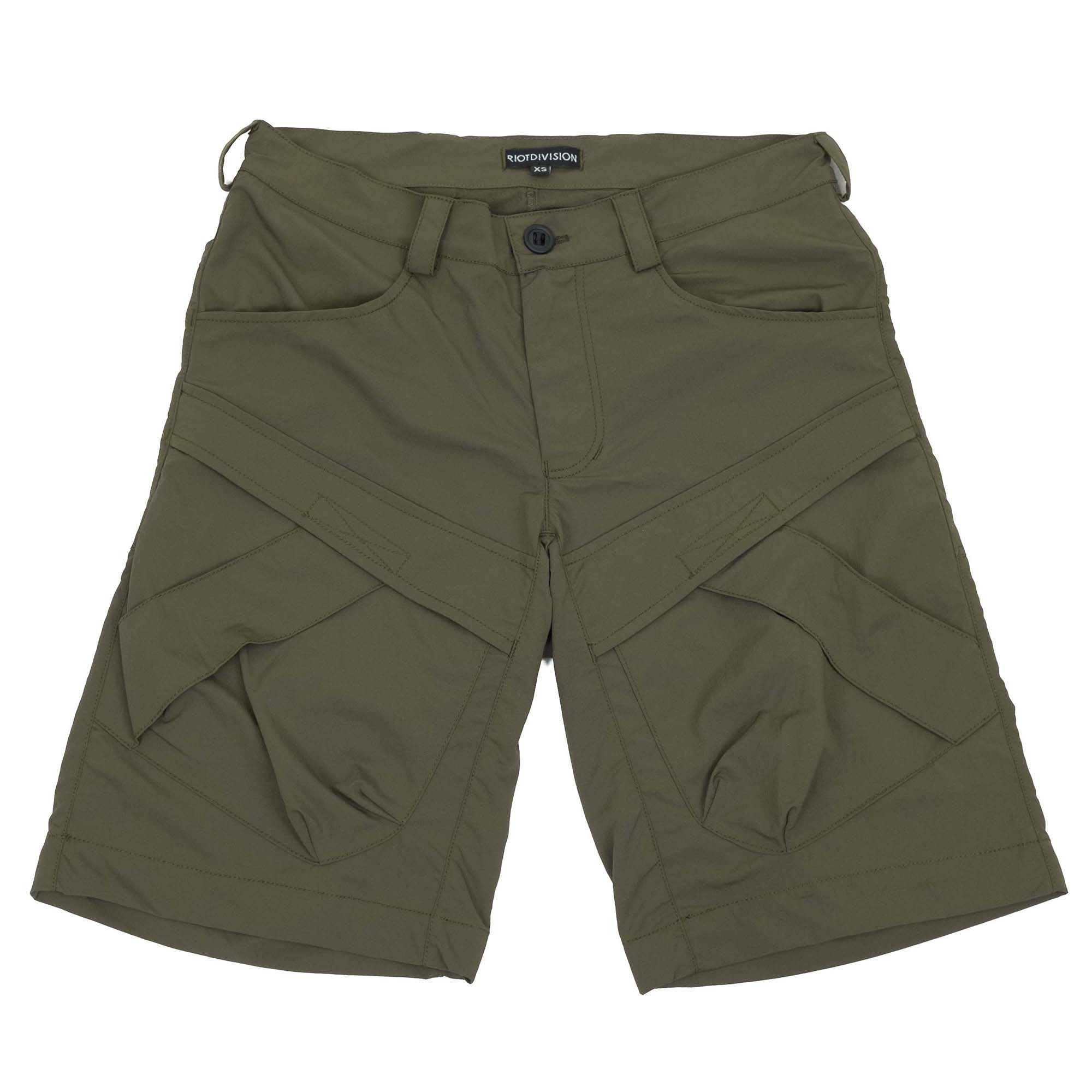 Riot Division Two Pockets Shorts Modified - Khaki