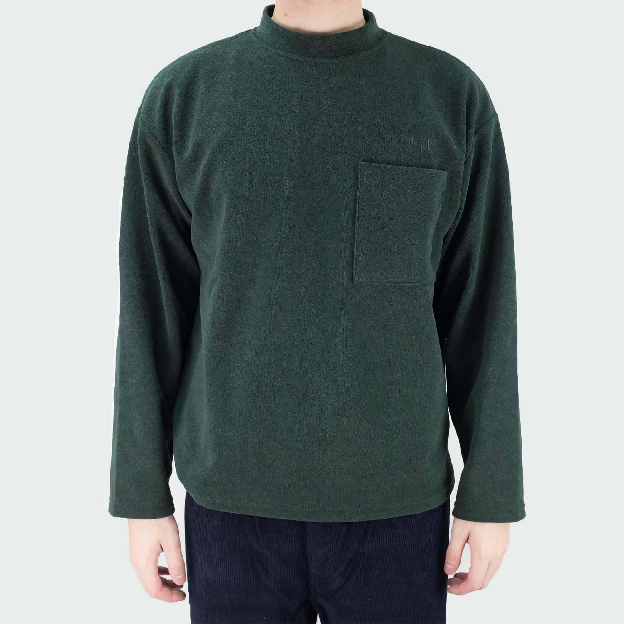 Polar Skate Co. Terry Pullover - Dark Green