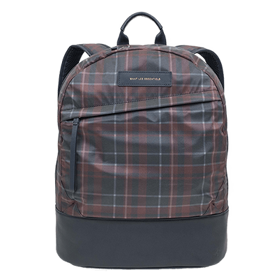 Kastrup Backpack Navy Tartan