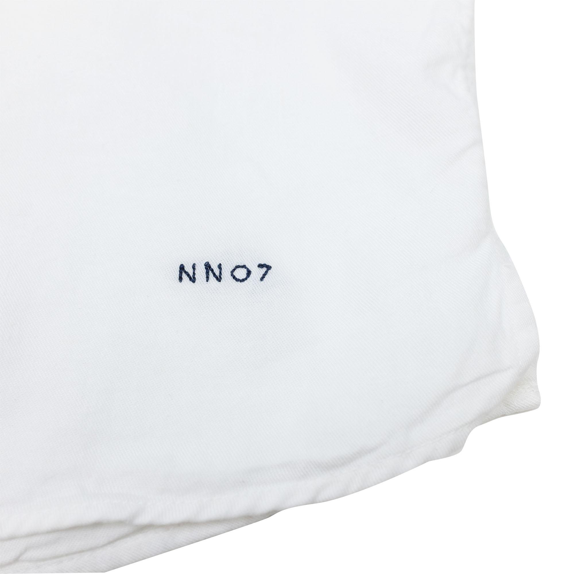 NN07 Miyagi 5029 Lyocell-Linen Shirt - White