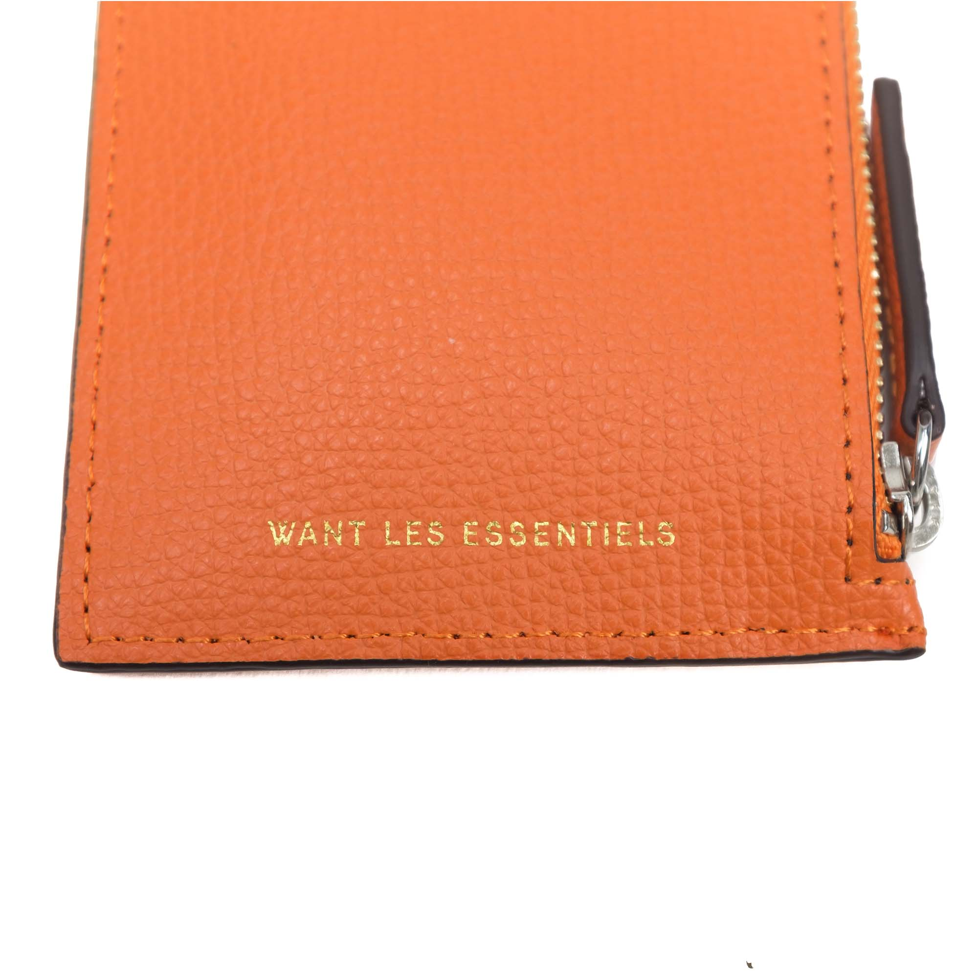 WANT Les Essentiels Adano Zipped Cardholder - Sunset grain