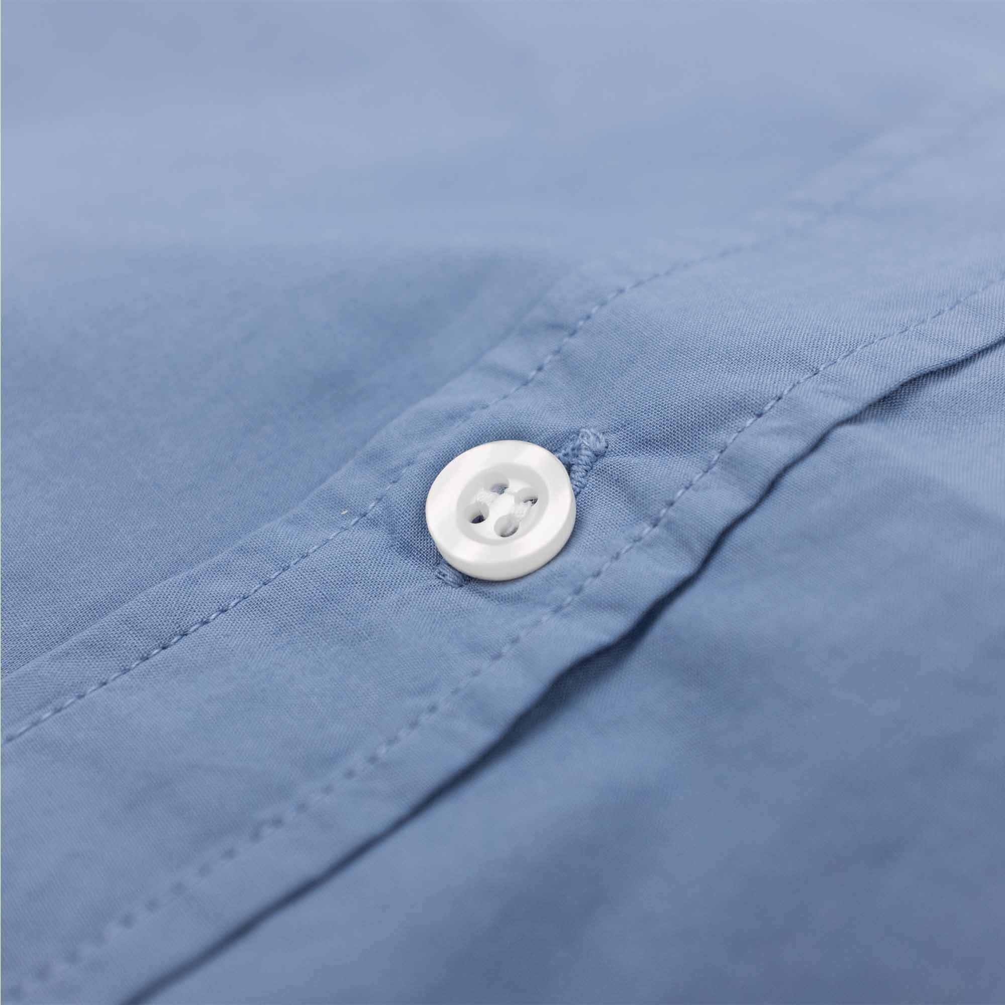 Filippa K Ben Washed Poplin Shirt - Paris Blue