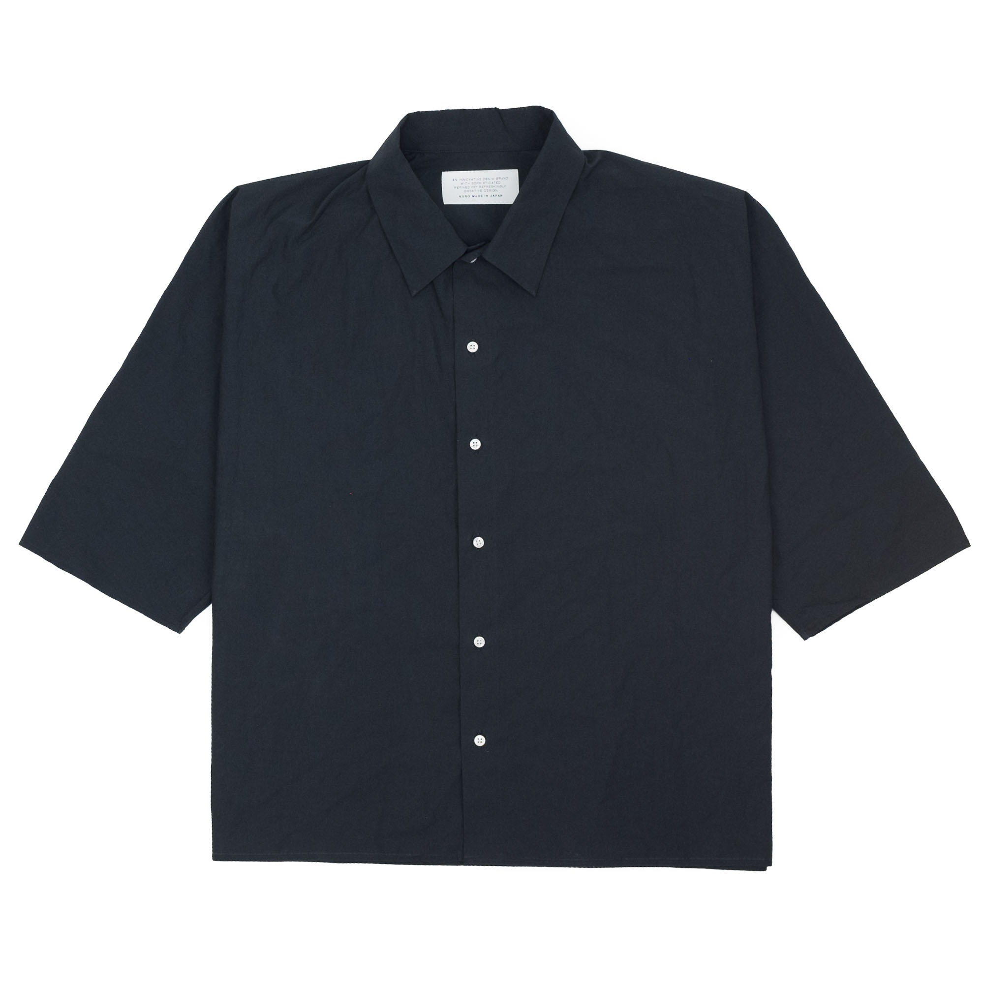 Dolman Sleeve S-S Shirt Black 1