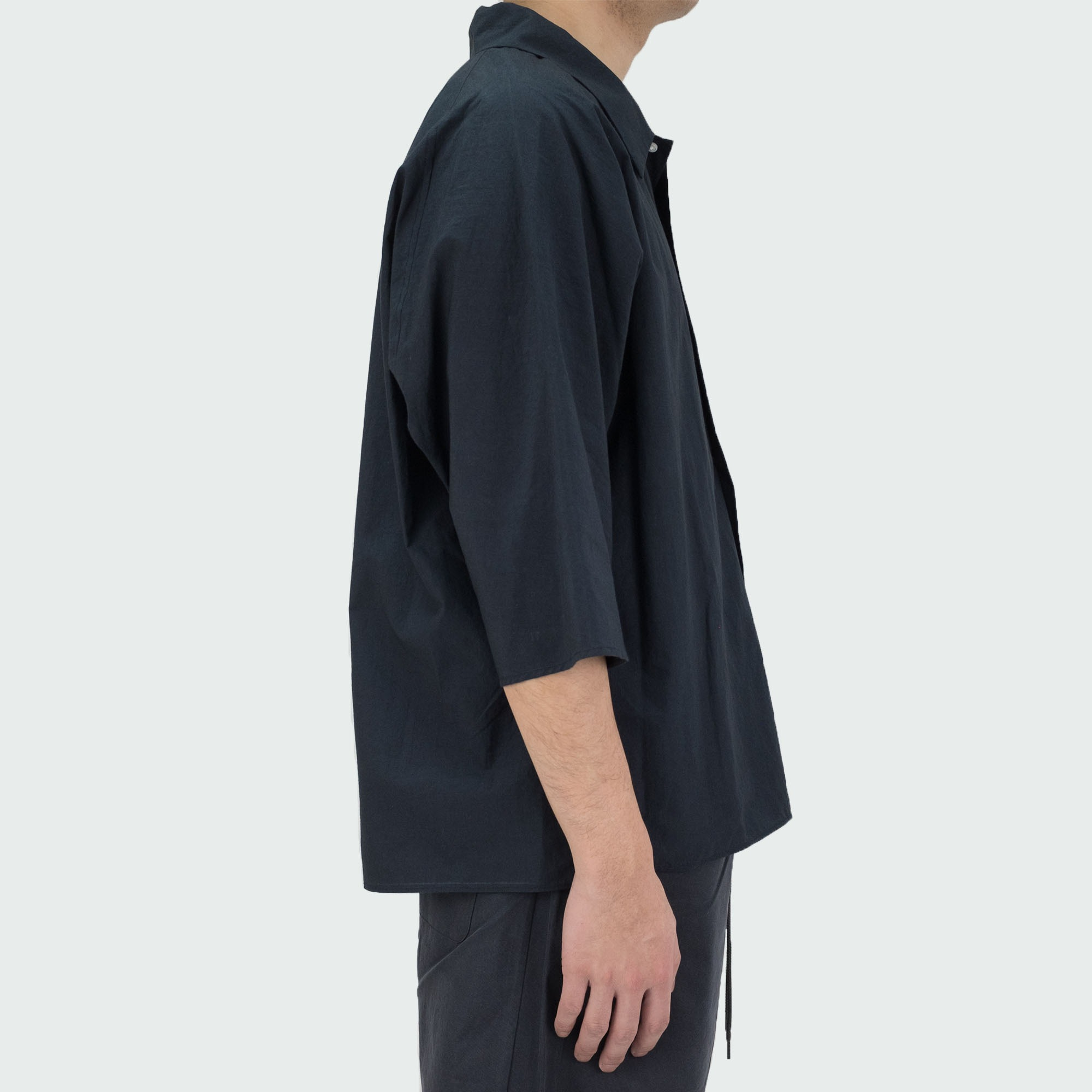 Dolman Sleeve S-S Shirt Black 3