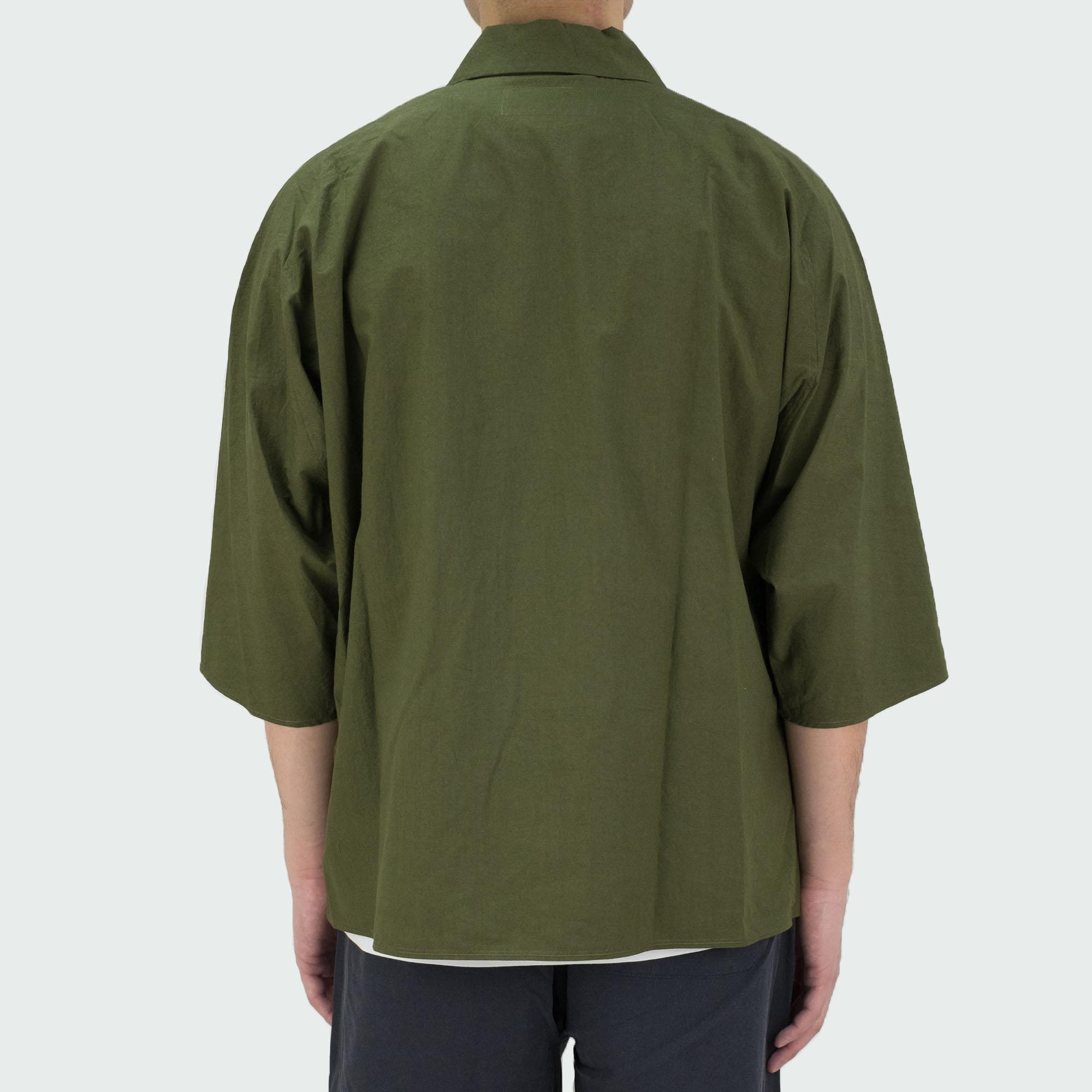 Dolman Sleeve S-S Shirt Khaki 4