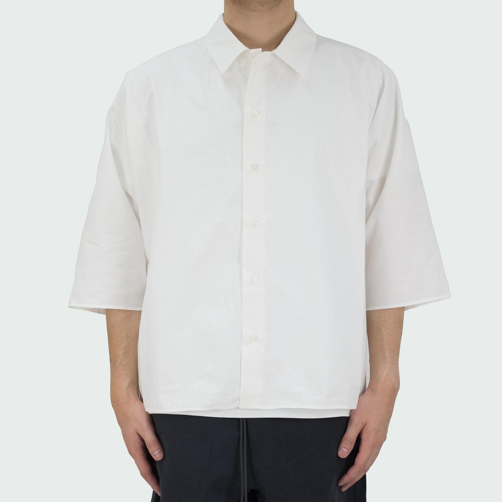 Dolman Sleeve S-S Shirt Off White 2