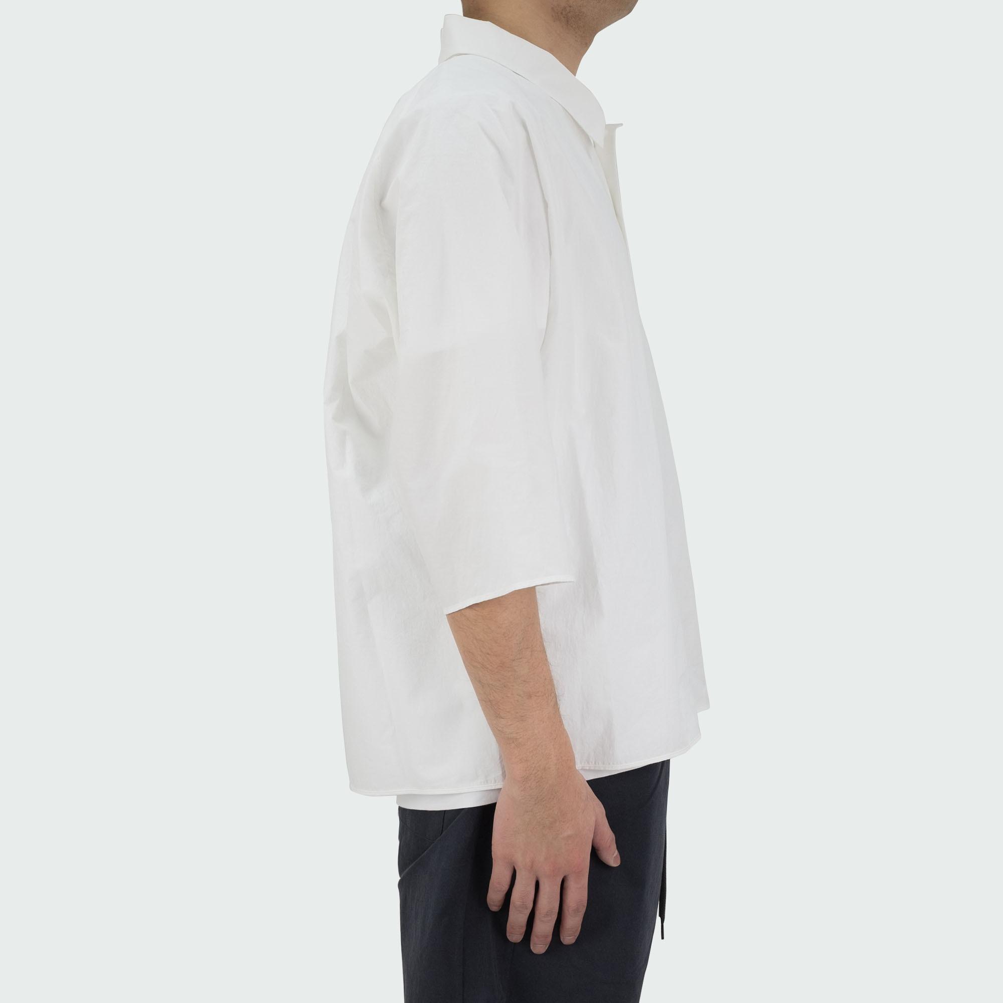 Dolman Sleeve S-S Shirt Off White 3