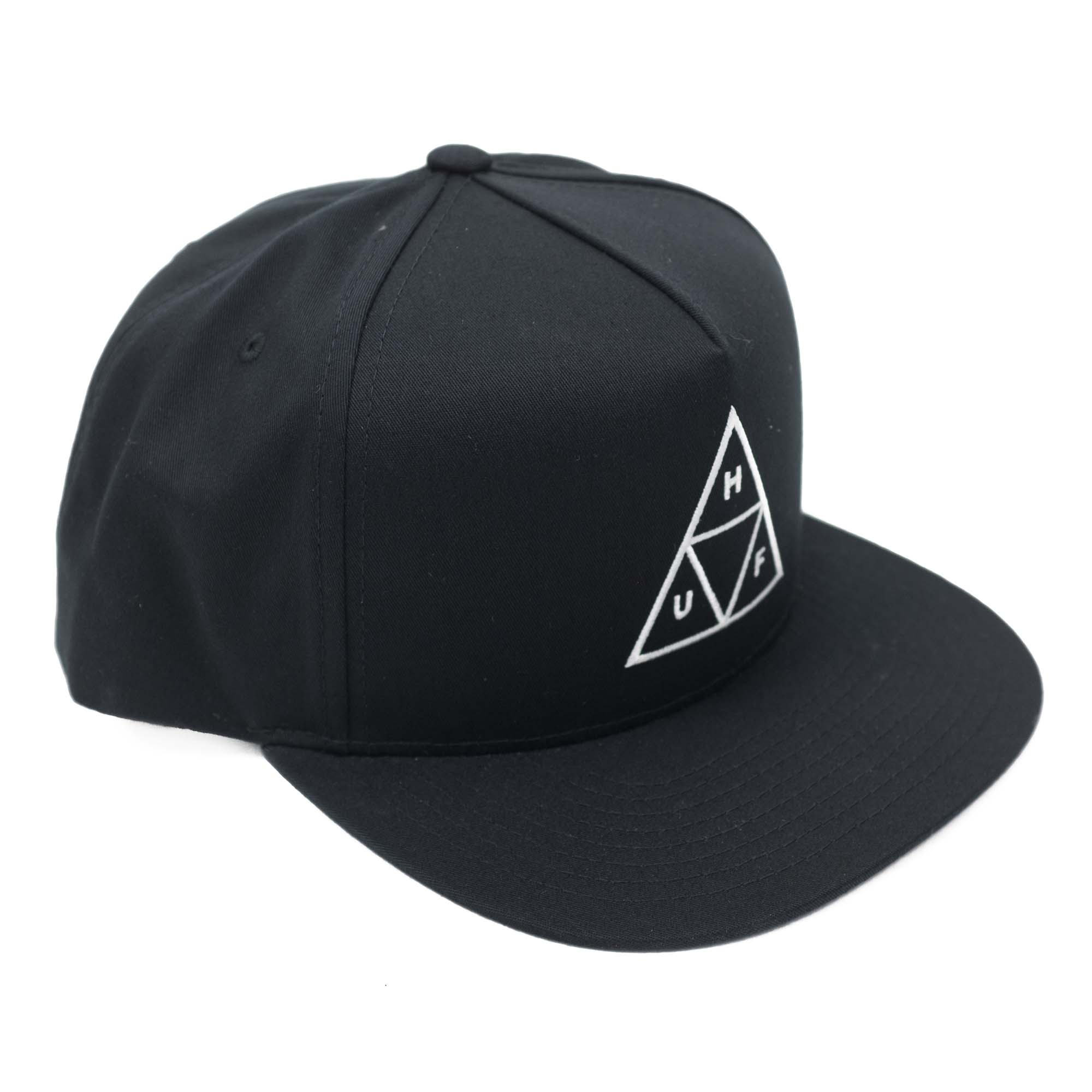 Essentials TT Snapback Hat Black 1