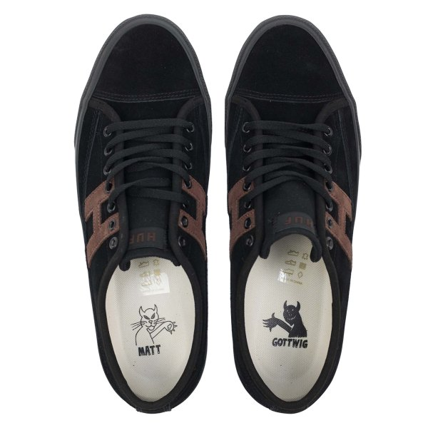 HUF Hupper 2 Lo - Black