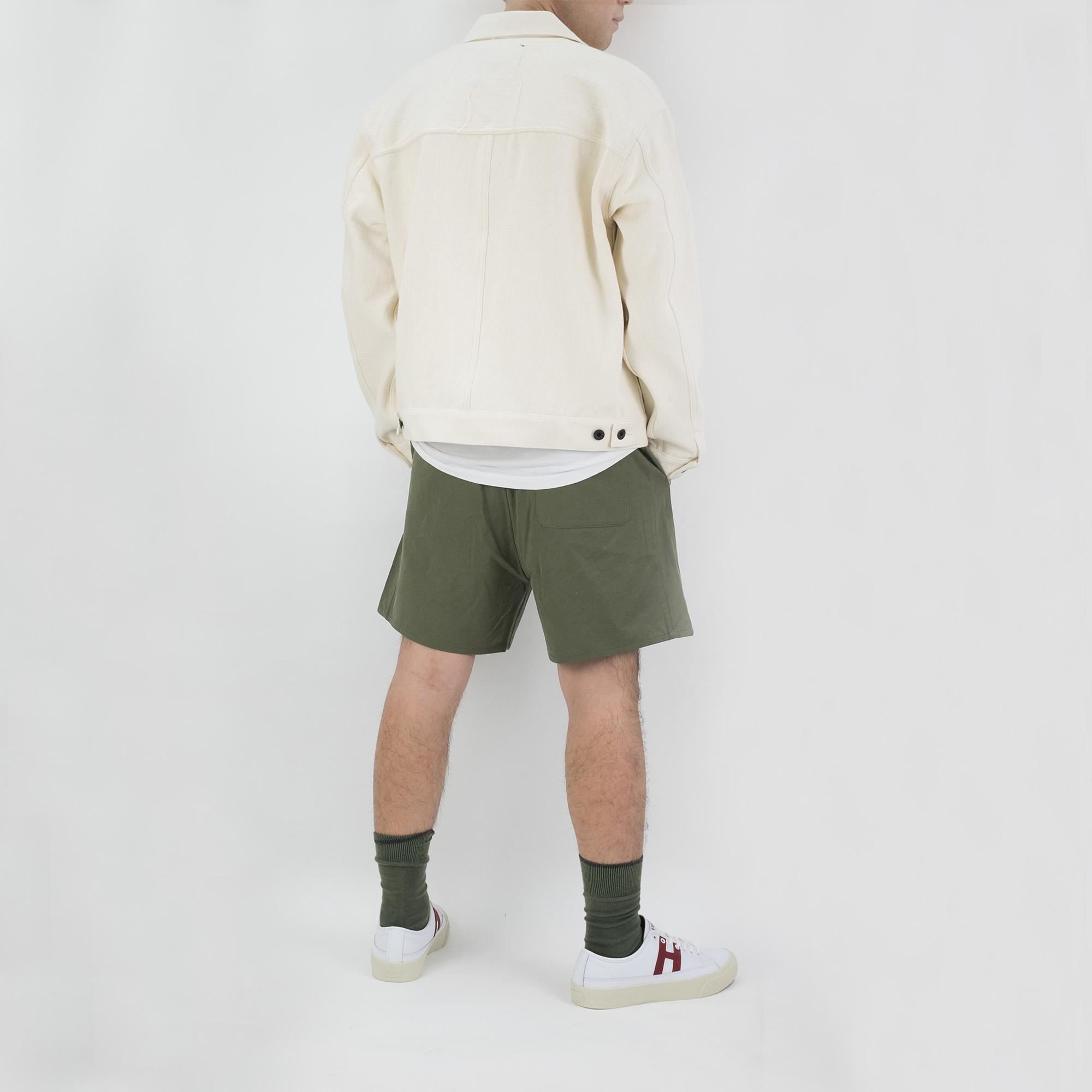 Kuro Sulfur Dyed NIDOM Training Shorts - Khaki