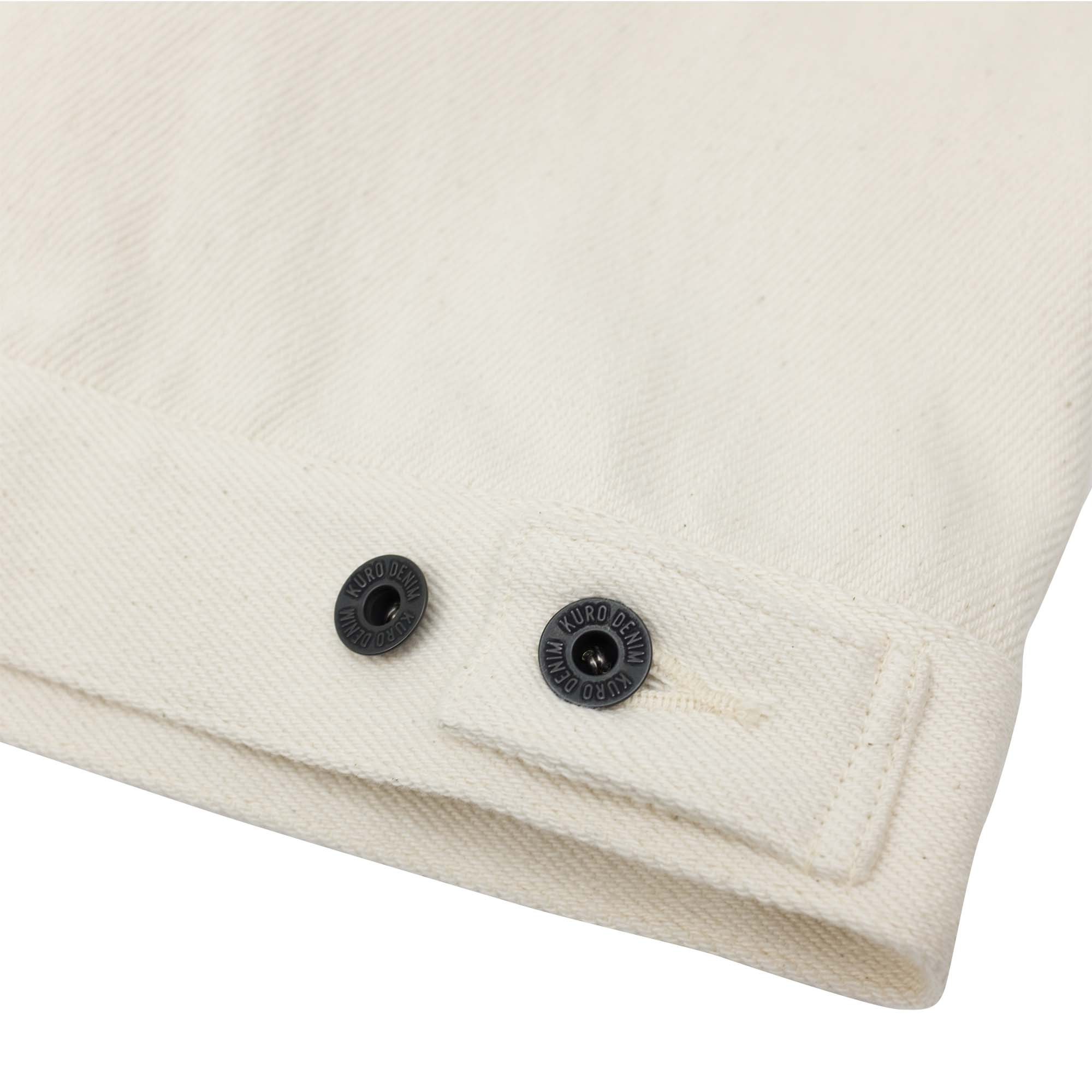 Loose Denim Big Jacket One Wash Off White 11