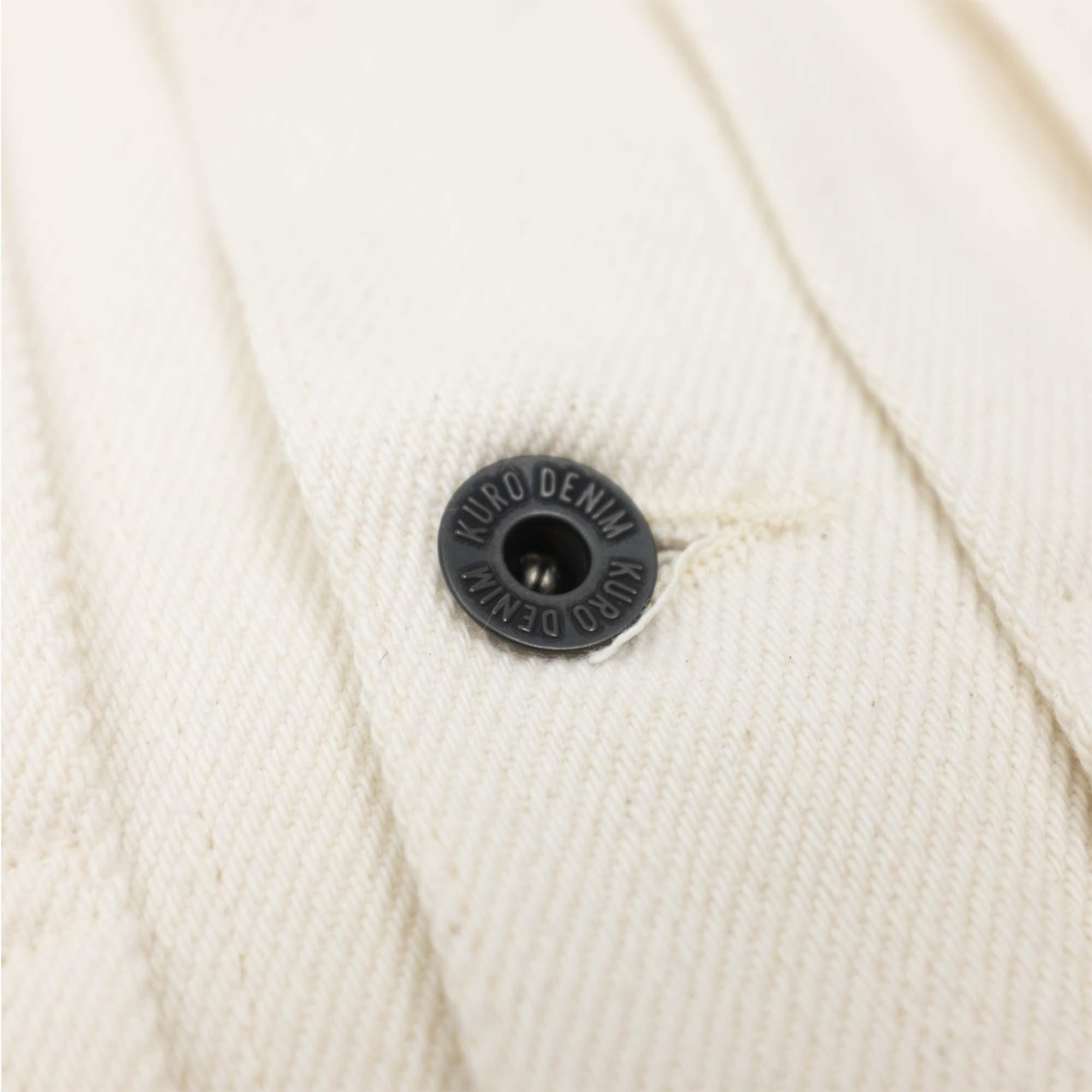 Loose Denim Big Jacket One Wash Off White 7