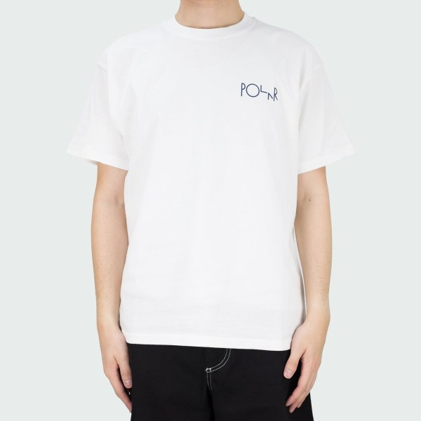 Polar Skate Co. 69 Fill Logo Tee - White