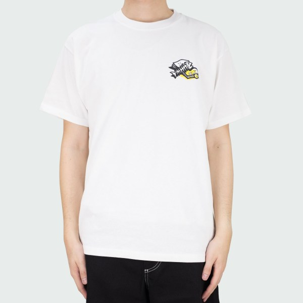 Polar Skate Co. Trashcan Tee - White