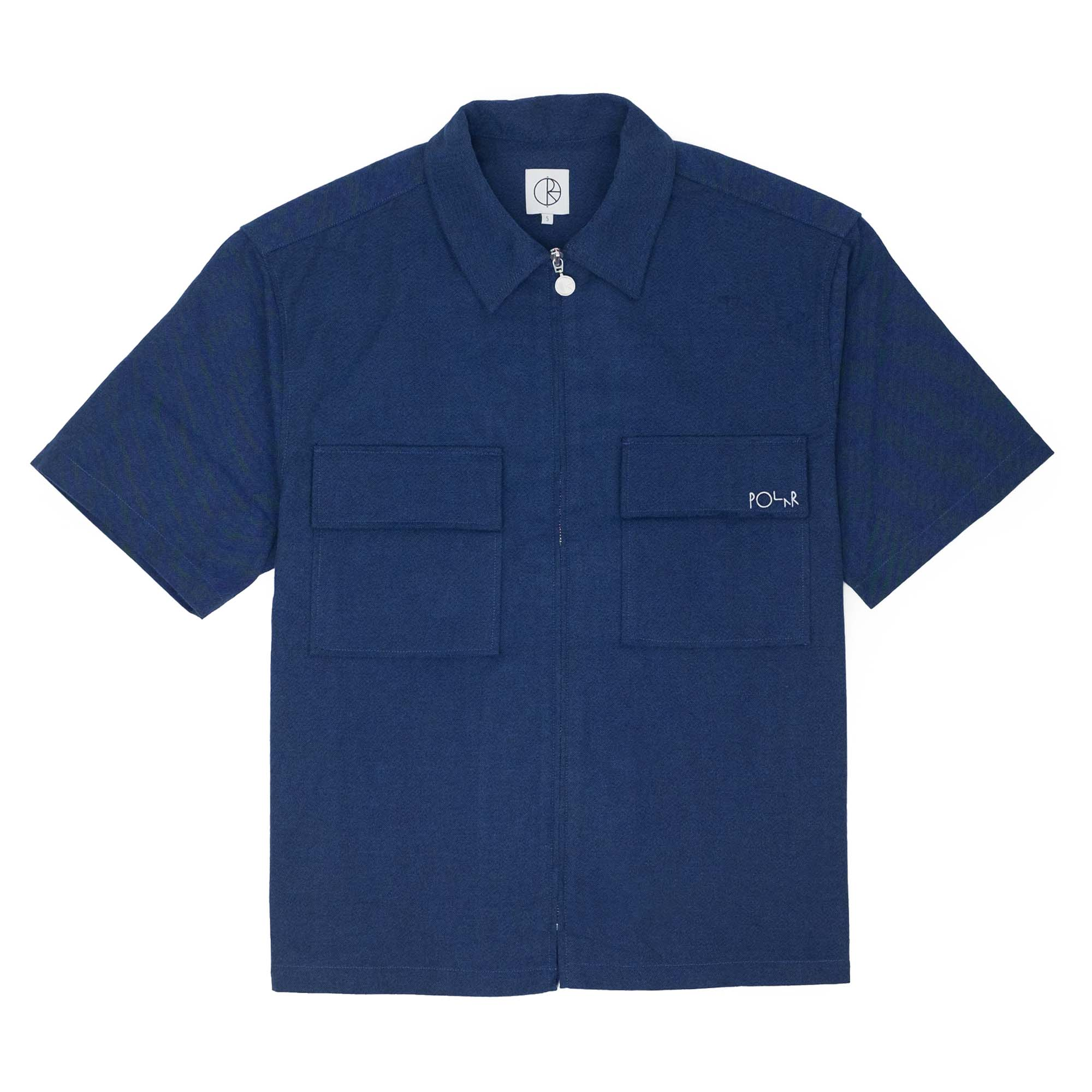 Polar Skate Co. Work Shirt - Blue