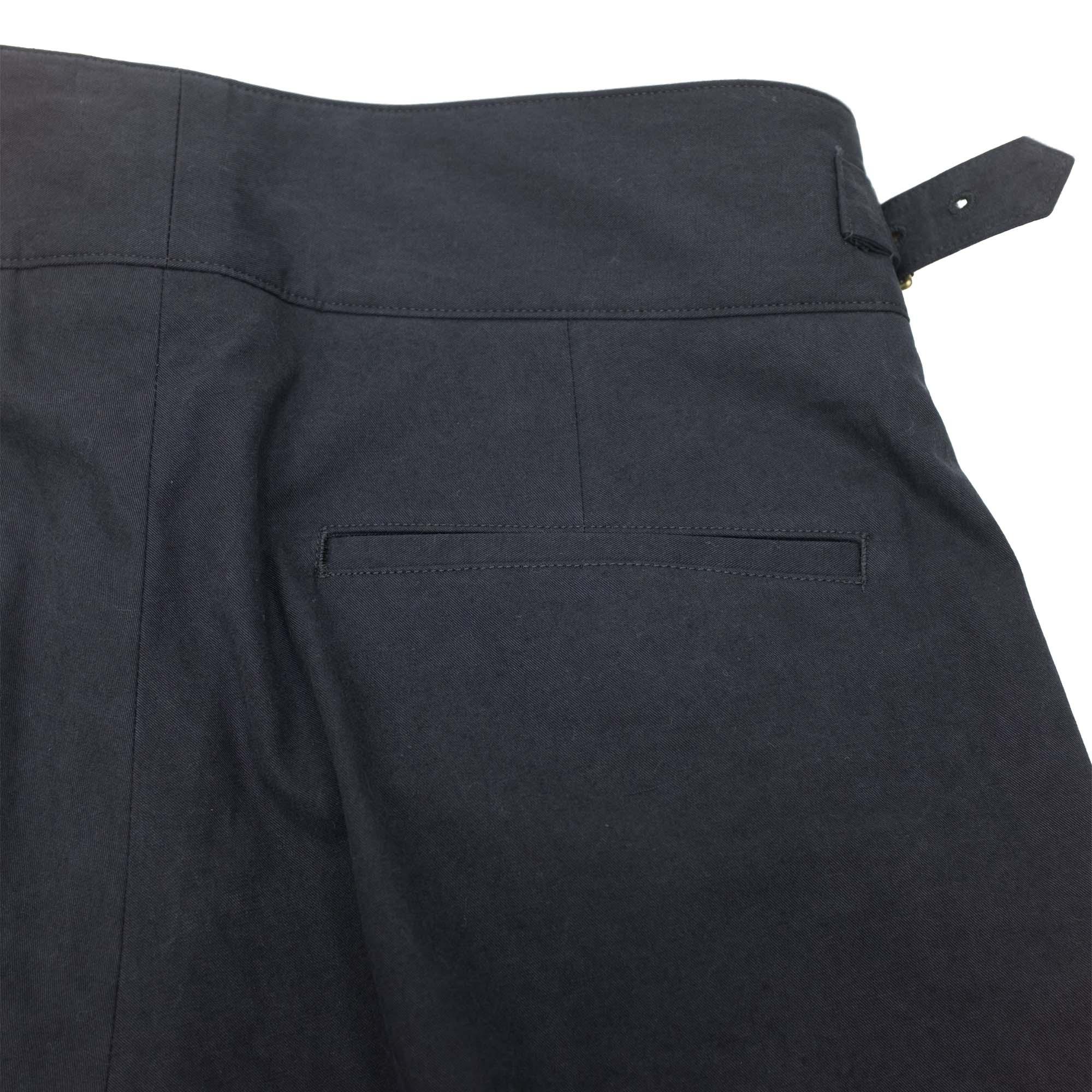 Kuro Sulfur Dyed NIDOM Gurkha Pants - Black