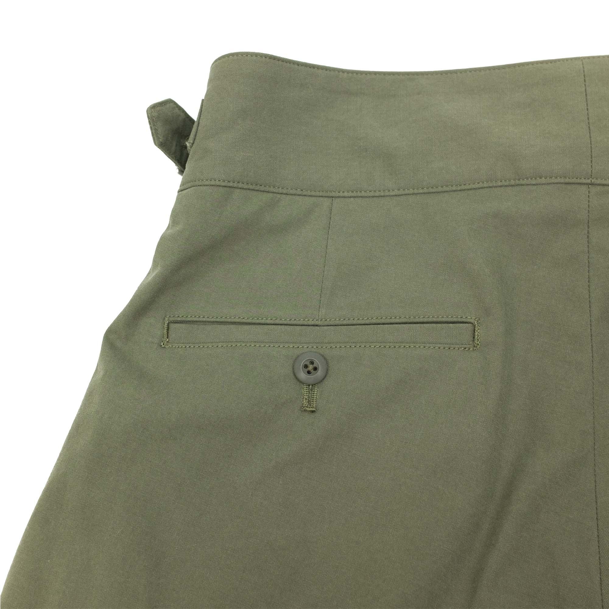 Sulfur Dyed NIDOM Gurkha Pants Khaki 9