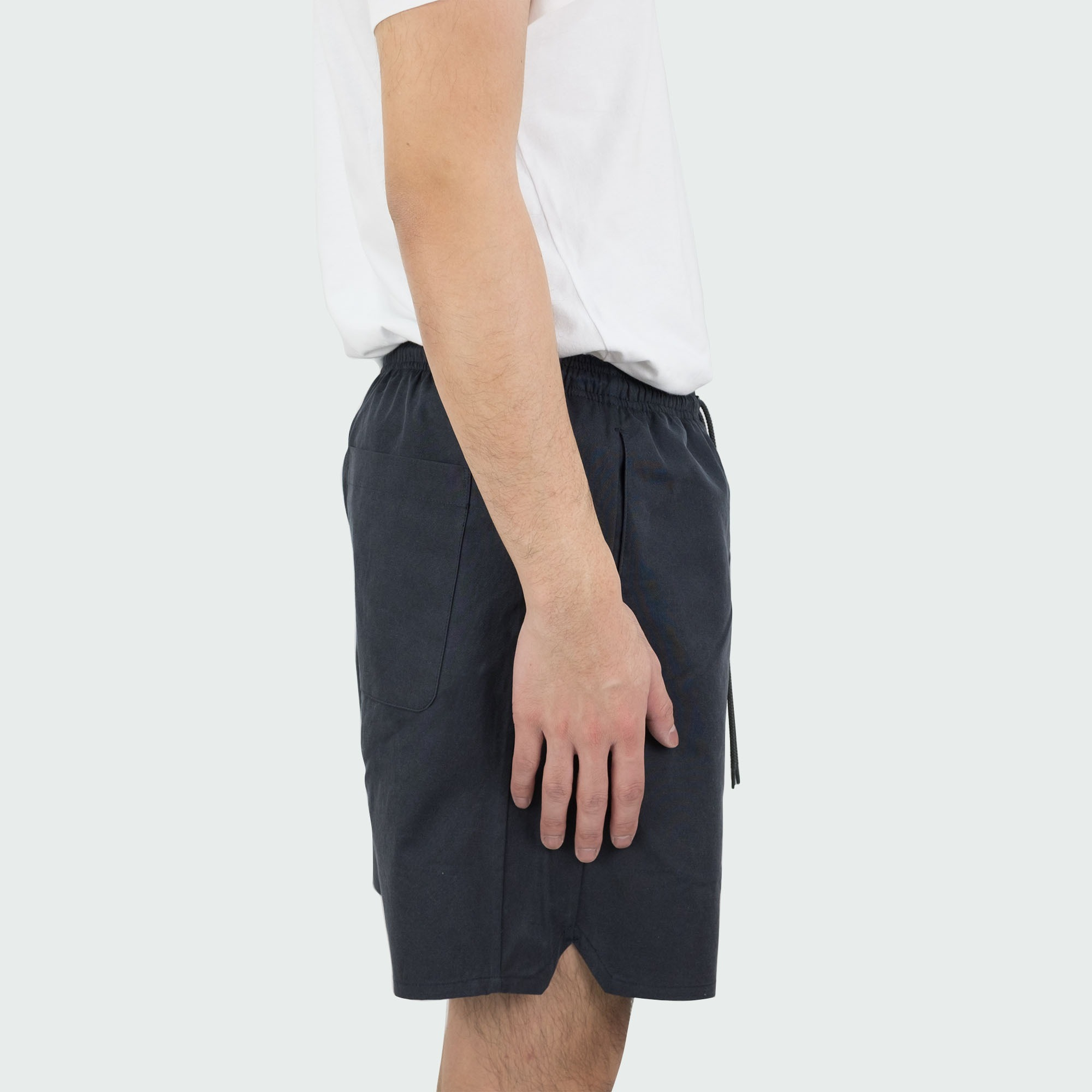 Kuro Sulfur Dyed NIDOM Training Shorts - Black