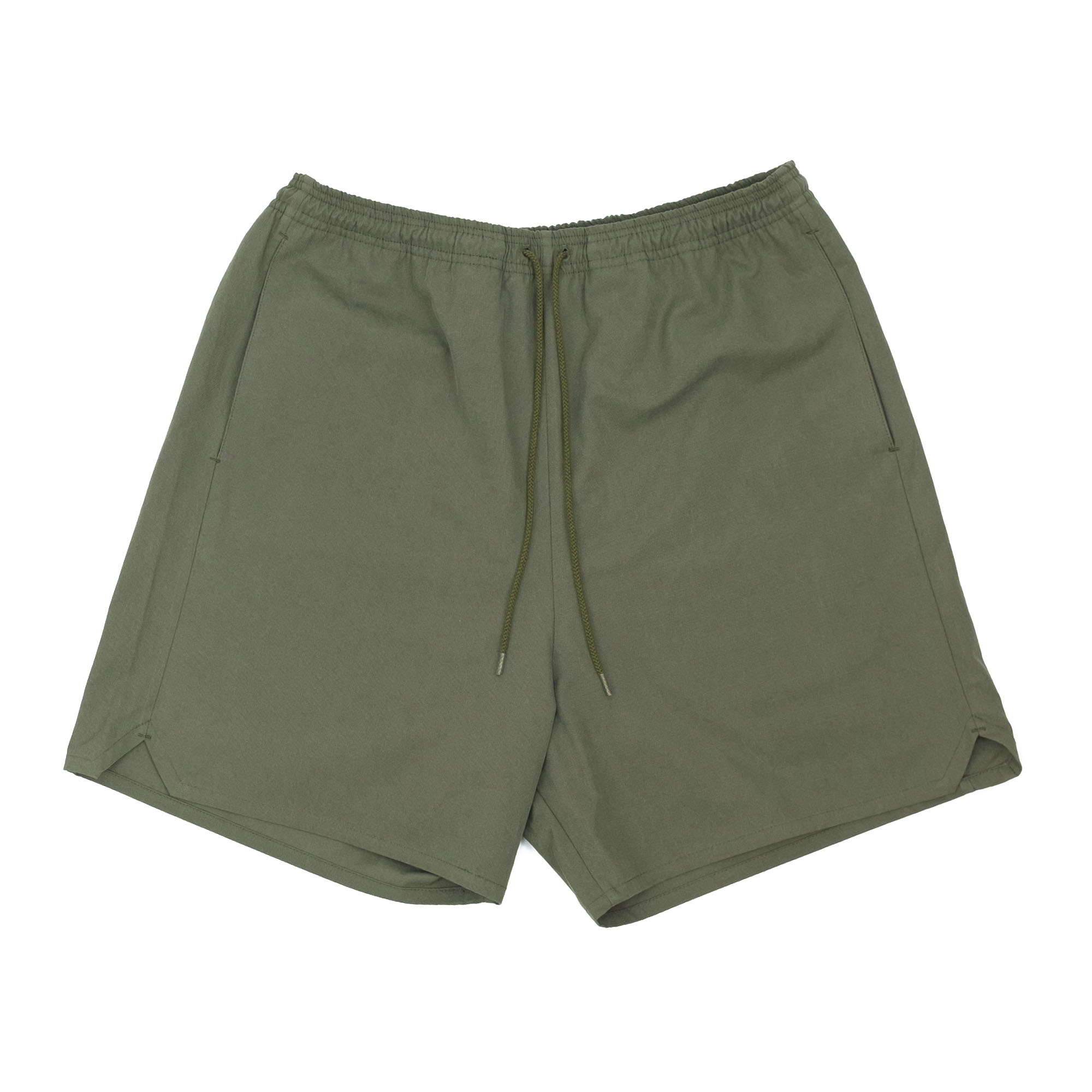Sulfur Dyed Nidom Training Shorts Khaki 1