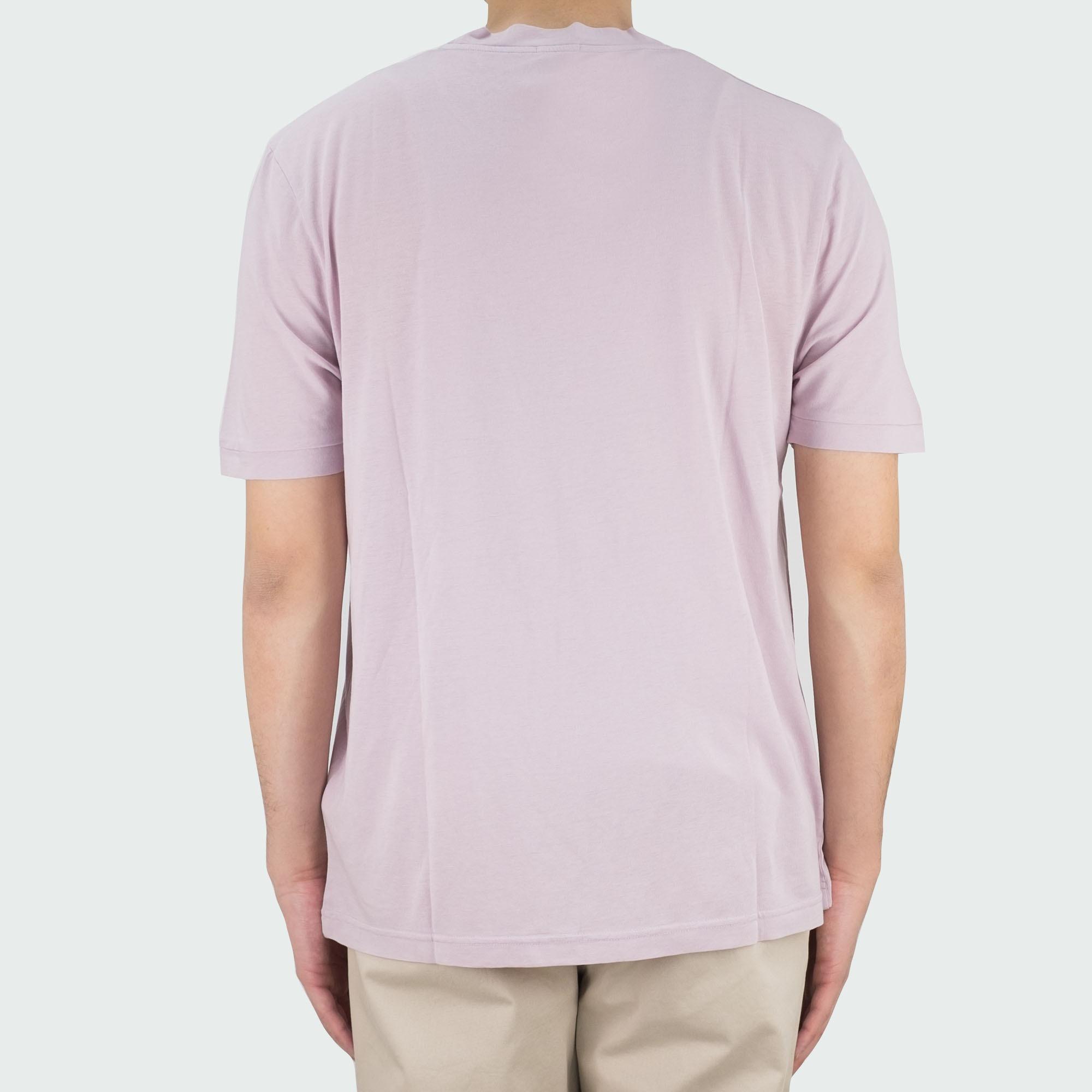 Filippa K Tencel Cotton Tee - Frosty Pink