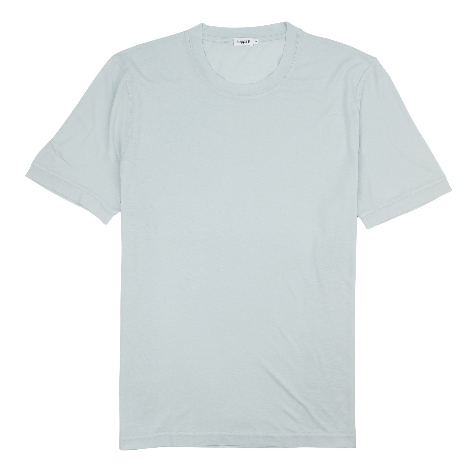 Filippa K Tencel Cotton Tee - Lichen