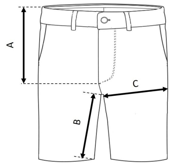Kuro Shorts Size