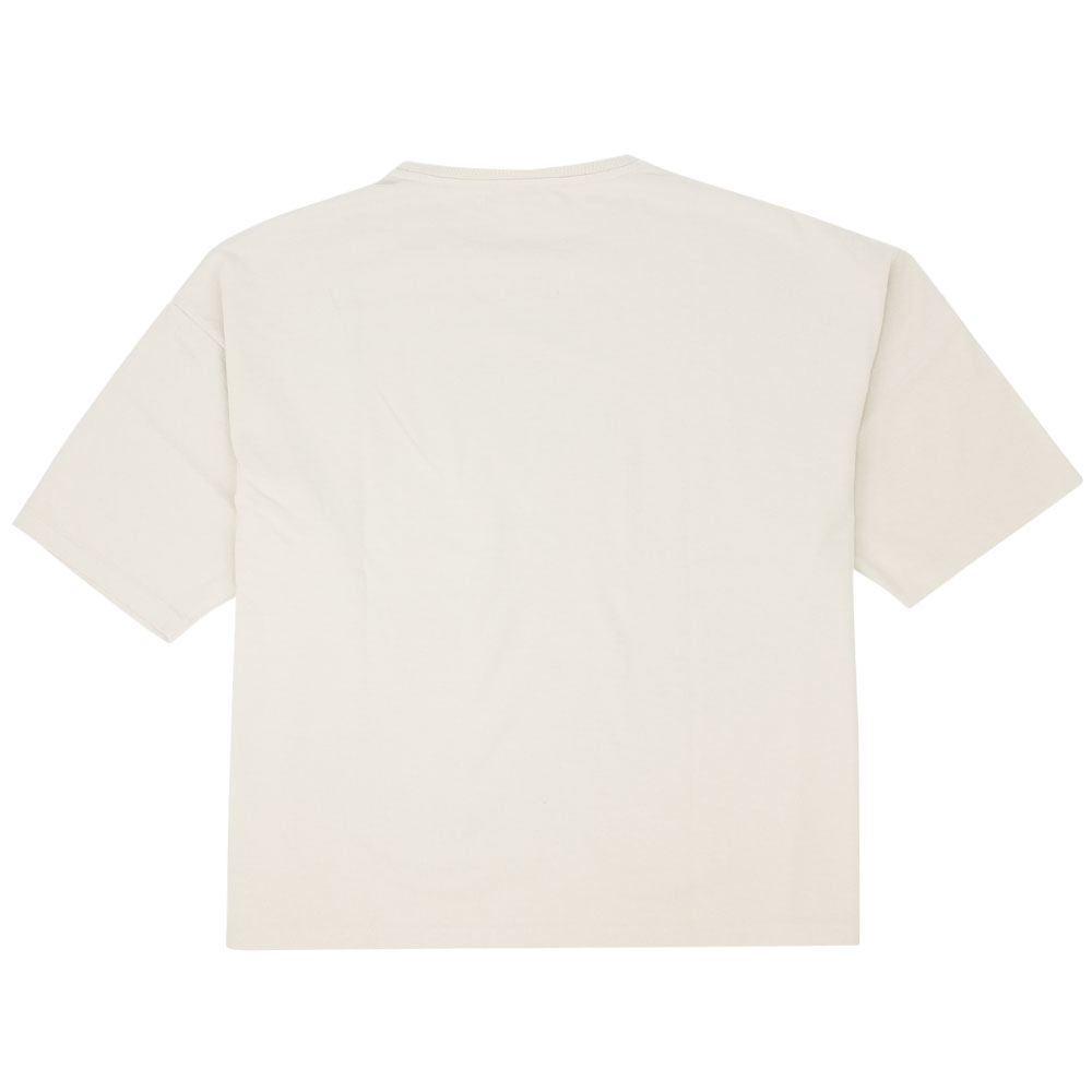 Kuro Dyed Wash Tee (Playful Jeep) - Beige