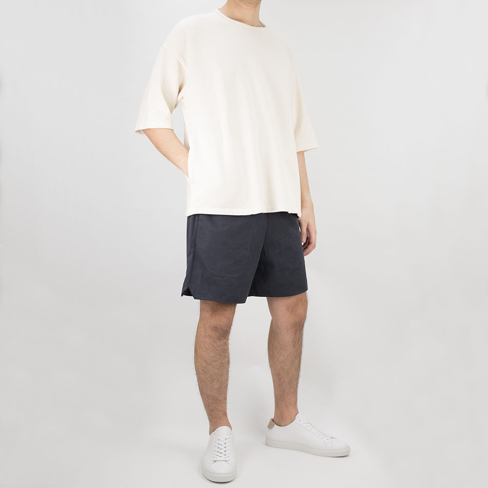 Kuro Kanoko Big Pocket Tee - Off White
