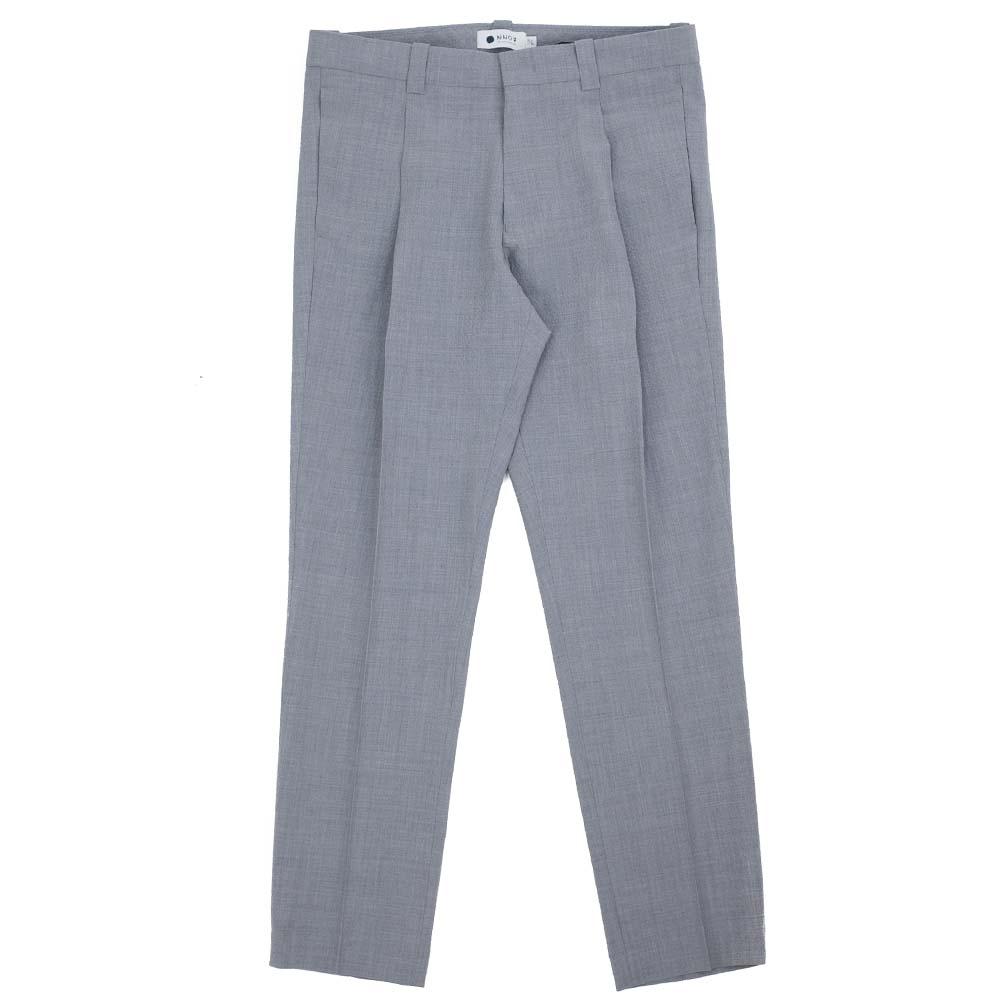 NN07 Diego 1352 Wool-Polyester Pants - Grey Mel.